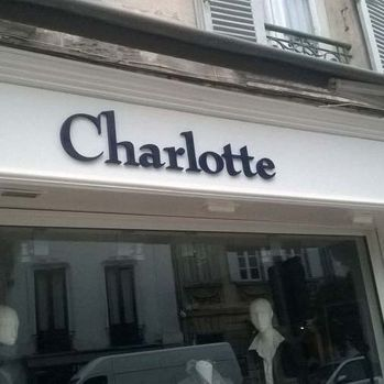 lettres - Charlotte